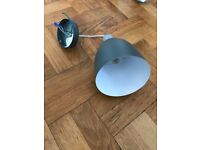 Dark grey metal pendant light - HABITAT