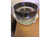 Portable halogen cooker oven