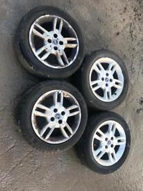 2004 Fiat Punto Alloys Wheels Rims 185 55 R15
