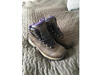 Women's Hi-Tec walking boots size 5