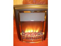 Dimplex Electric fire with coal & flame effect Model CHT20 ,very good condition & full working order