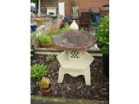 Small oriental garden lantern