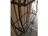 Quality Metal and Glass Shelf