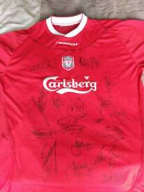 Signed liverpool top