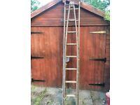 W J Clow & Co, Window Washers Ladder For Sale