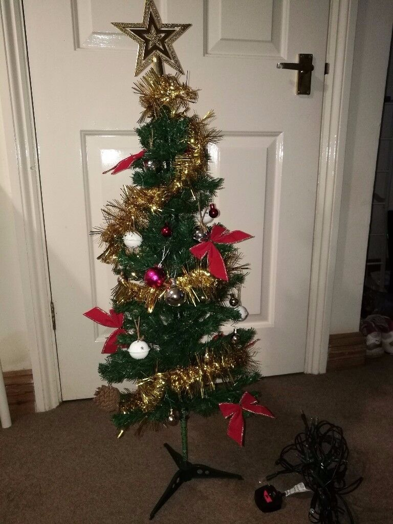 3 foot christmas tree with lights artificial christmas feet artificial christmas tree with led light and other decorations