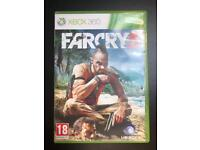 Xbox 360 : Farcry 3, SmackDown VS Raw 2009,2012 and WWE 2K14, 2K12