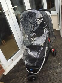 Baby Start oringinally from Argos £65 good condition large shopping basket complete with cover £25