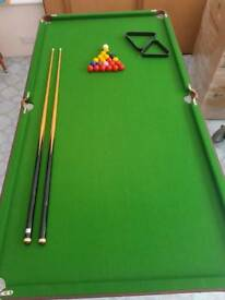 Table snooker and pool