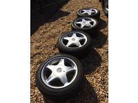 Vw Golf mk2 original speedline alloy wheels