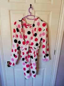 Girls Dressing Gown 12-13yrs