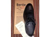 Bertie Mens Black Shoes.