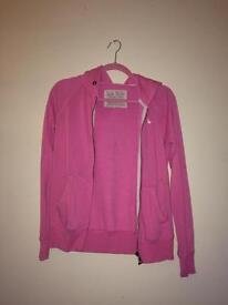 Pink Jack Wills hoodie