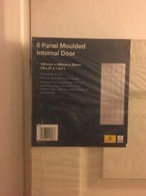 6 panel internal door New
