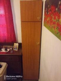 Tall slim wardrobe