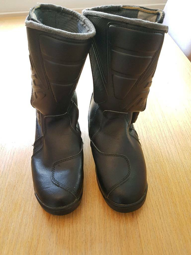Richa Ladies leather motorcycle boots - size 4.5 (eu 37)