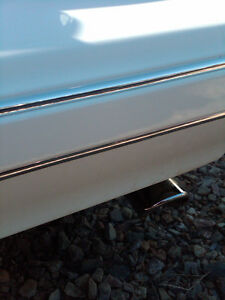 1987-1988 MONTE CARLO BUMPER FRONT REAR CHROME TRIM MOLDING SET