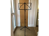 Music Stand (Boxed and almost new)