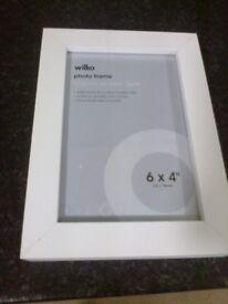 wilko white photo frame
