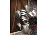 Left hand golf clubs full set . Including bag