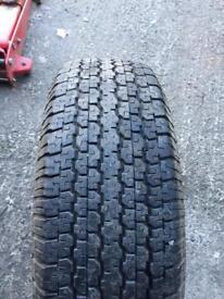 265/70/16 quality part worn shogun tyres