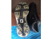 Footjoy size 8 golf shoes