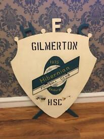 Hand made old school Hibernian Gilmerton Trophy