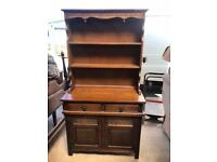 Old charm oak dresser FREE DELIVERY PLYMOUTH AREA