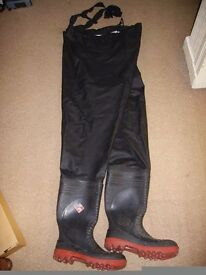 Dunlop Ribbed Professional Waders