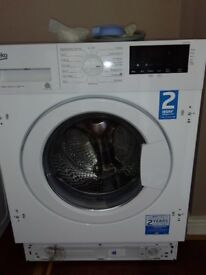BEKO WIX845400 8 kg 1400 Spin Integrated Washing Machine RRP £449.99