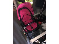 Oyster 2 pushchair (Hot Pink)
