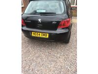 Peugeot 307 only 64000 miles from new with full service history