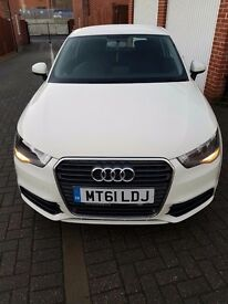 Audi A1 SE 1.6 TDI Manual White 3 door