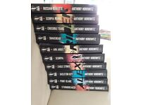 Alex Rider collection of 10 spy books by Anthony Horowitz (ideal for children aged 9 - 14 years)