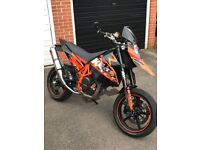 KTM 690R 2009 IN BLACK/ORANGE