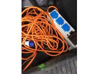 Electric hook up cable