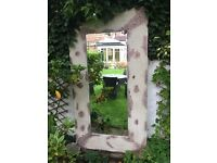 CHEAP VINTAGE STYLE GARDEN (OR HOME) MIRROR FOR SALE!!!!