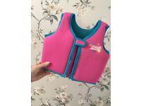 Zoggs girls swim jacket 2/3