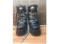Black New Rock Original Boots