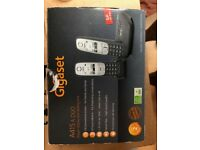 Brand New - Gigaset A415A Duo Cordless Phone - Black
