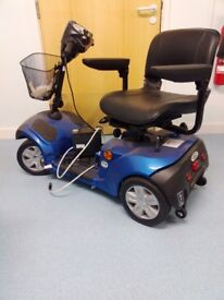 Mercury Neo 4 Electric Blue Mobility Scooter