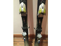 Used K2 Skis for Women 160cm in very good condition (with Marker MOD 11.0 Bindings)