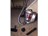 VAX power 5 bagless 2000 watt cyclonic cylinder vacuum.