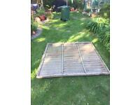 Free to collect shed panels