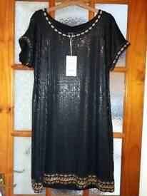 Monsoon size 12 dress