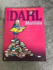 Roald Dahl's Matilda book
