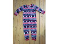 girls fleece onesie (age 5-6), Ben & Holly pyjamas (age 4-5) & girls shoes lots sizes