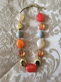 Statement necklace £6