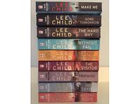 9 Jack Reacher Novels