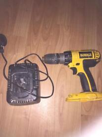 Dewalt combo drill and charger